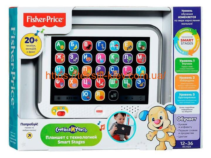 Розумний планшет Fisher Price FBR86 (Укр)